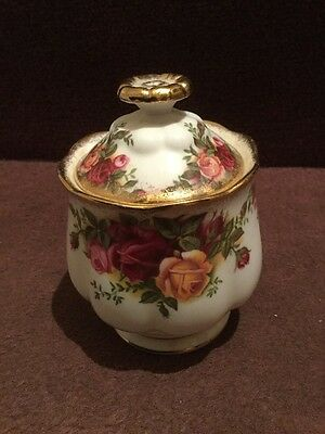Royal Albert Old County Roses Lidded Preseve Pot