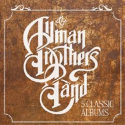 The Allman Brothers Band-5 Classic Albums  CD / Box Set NEW