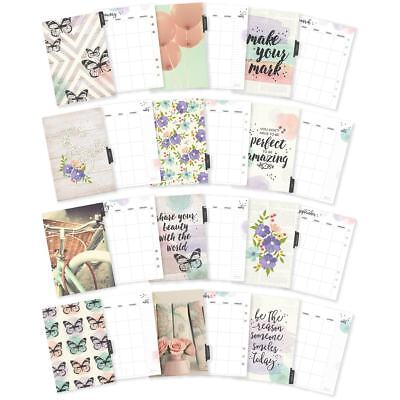 Carpe Diem Bliss Double-Sided A5 Planner Inserts