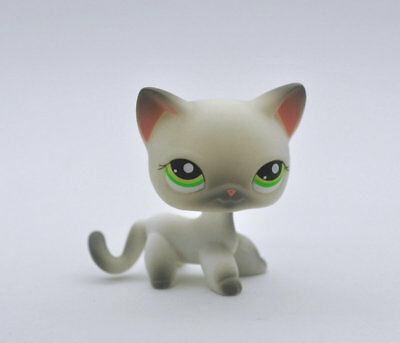 CAT SHORT HAIR Littlest Pet Animal child girl boy figure loose cute LPS810