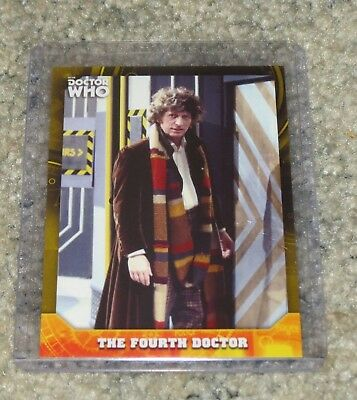 2017 Topps Doctor Who Signature Series Base Card 4 Yellow Parallel 20 / 25
