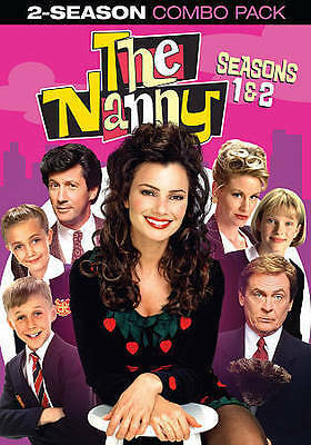 The Nanny: The Complete First  Second Season (DVD, 2014, 4-Disc Set) New