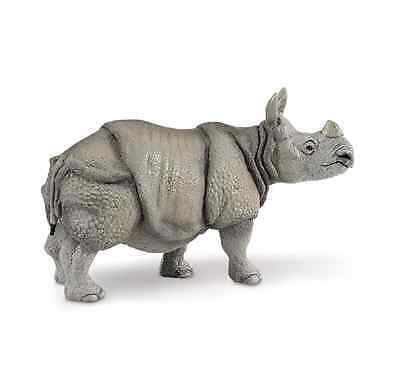 INDIAN RHINO Replica # 297329 ~ 1 Horn ~ FREE SHIP/USA  w/ $25.+ SAFARI Products
