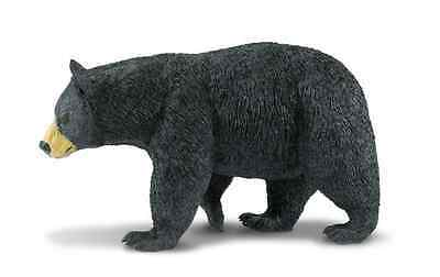 "BLACK BEAR # 112589 ~ Wildlife Wonders ~ 8"" Long ~ FREE SHIP/USA w/$25+Safari"