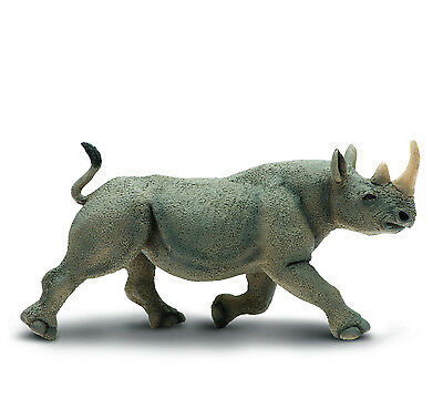 Black Rhino Replica  #228929 ~ Beautiful  ~ FREE SHIPPING/USA w/ $25+ SAFARI