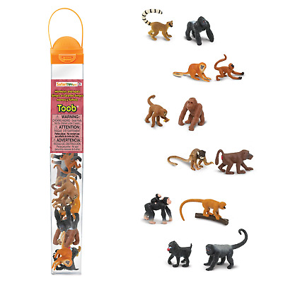 Monkeys & Apes Toob # 680604 ~set of 12 ~  FREE SHIP/USA  w/$25+ Safari, Product