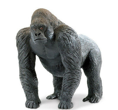 SILVERBACK GORILLA #111589~Wildlife Wonders ~ FREE SHIP/USA w/$25+Safari Product