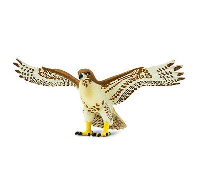 RED TAILED HAWK Bird Replica 151029 ~ NEW for 2017  FREE SHIP/USA w/ $25+ SAFARI