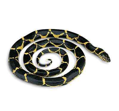CHAIN KINGSNAKE #257929  Very Realistic/Lifelike ~ FREE SHIP/USA $25+ SAFARI