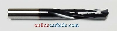 """1/4"""" (.2500"""") CARBIDE STUB LENGTH DRILL - TiALN COATED"""