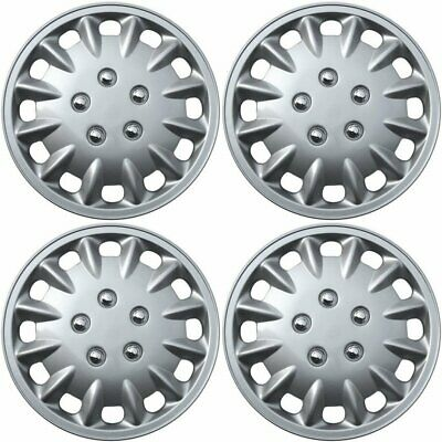 Hubcaps fits 14-17 Nissan Rogue - 17 Inch Silver Replacement Wheel Cover Rim