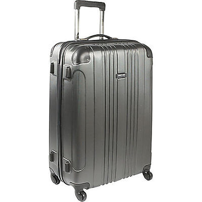 "Kenneth Cole Reaction Out of Bounds 28"" Molded Upright Spinner - Charcoal"