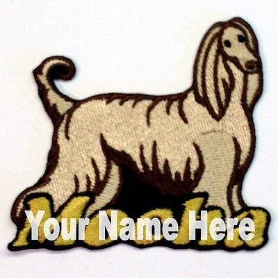 Wirehaired Dachshund Dog Custom Iron-on Patch With Name Personalized Free