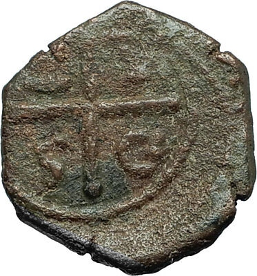 CRUSADERS of Antioch Tancred Ancient 1101AD Byzantine Time Coin St Peter i66231
