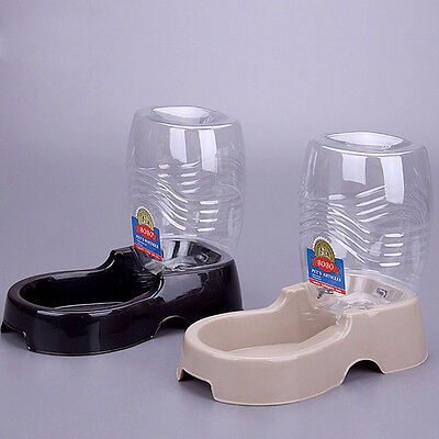 Useful Pet Cat Dog Automatic Bottle Bowl Water Drinking Dispenser Feeder 1pcs