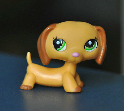 Littlest Pet Dog Dachshund Animal child girl boy figure loose cute LPS873