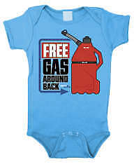 Smooth Industries Infant Free Gas Romper Turquoise 3-18 Months