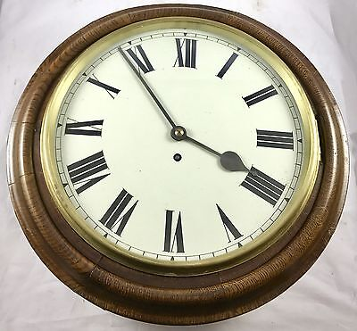 Lovely Oak W&H Single Fusee Wall Clock