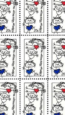 1984 - FAMILY UNITY - #2104 Full Mint -MNH- Sheet of 50 Postage Stamps