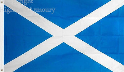 5' x 3FT FLAG St Andrews Scottish Saltire Scotland Scottish Flags 150 x 90cm New
