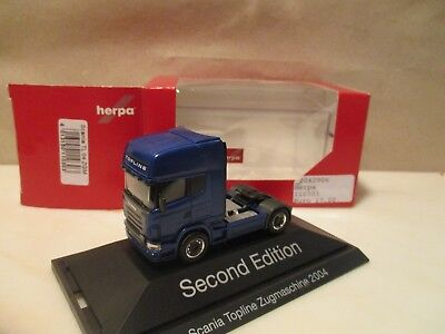 Herpa ----  SZM  ---   neutral blau    ----   SCANIA TL