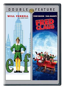 Elf & Fred Claus - 2 DISC(DVD,2013) BRAND NEW!!!