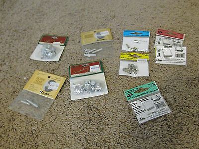 Lot of 8 packages of posts for scrapbooking mixed sizes new