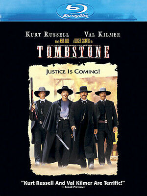 TOMBSTONE New Sealed Blu-ray Kurt Russell Val Kilmer
