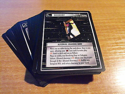 Star Trek CCG Alternative Universe COMMON SET