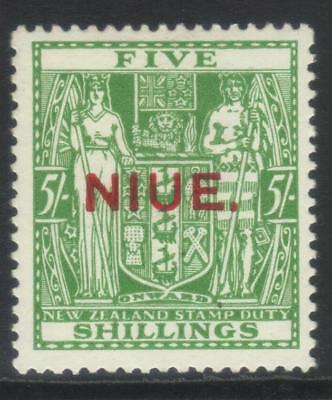 Nuie 1941-1967 Postal Fiscal Sg84 Mh Cat £14