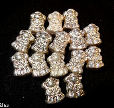 Silver Spacer Beads Little Girl Shape Charm Bracelets Lot of 15 Pcs Cute ~ TH