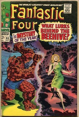 Fantastic Four #66 - G+ - 1st Mention Of Him (Warlock)