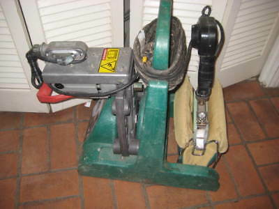McElroy Pitbull No. 14 Butt Fusion Machine Facer / Heater / Stand Used