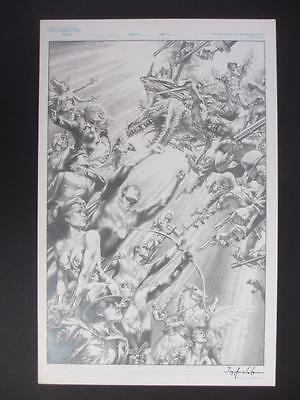 Justice League of America 80 Page Giant #1 (Original Art) Cover by Jay Anacleto!