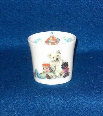 Queen's Teddy Bear Egg Cup Bone China England