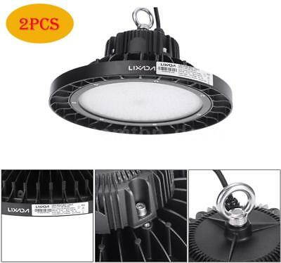 2X 240W 25200-27600LM LED High Bay Lamp Waterproof Industrial Light Fixture M5G5