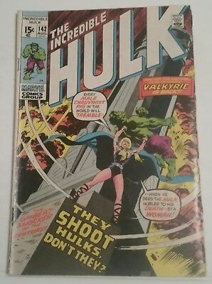 The Incredible Hulk # 142 - Marvel Comics - August 1971