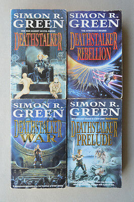 Joblot Of Death Stalker Books By Simon R. Green (X4)