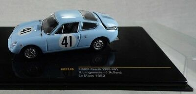 ny289, IXO Simca Abarth 1300 Nr.41 LeMans 1962 BOX 1:43 NEU/NEW
