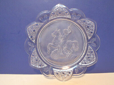 Gillinder & Sons Classic Warrior pattern EAPG Plate