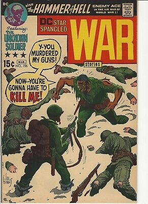 Star Spangled War Stories #155 Unknown Soldier Enemy Ace Kubert Silver Age DC