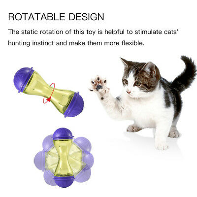 Ball Pet Dog Puppy Cat Treat Trainning Play Toy Tumbler Food Dispenser Holder