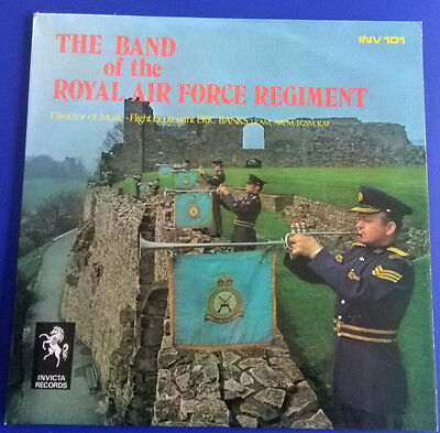 The Band of The Royal Air Force Regiment (Eric Banks), LP UK 1971