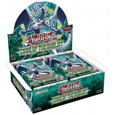 Yu-gi-oh! Code Of The Duelist Booster Display (24) *english Version* [2196201]