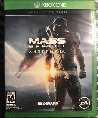 Mass Effect: Andromeda Deluxe Edition (Xbox One, 2017) BRAND NEW, LOWEST $!