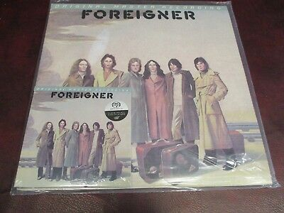 Foreigner S/t Mfsl Audiophile 1/2 Speed Mastered 180 Gram Lp + Sacd Combo