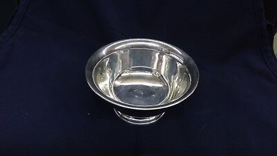 "EPCA Poole Silver Co. Paul Revere Bowl 6"" footed bowl  #5026"