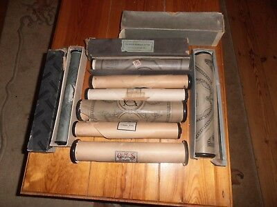 8 Pianola Rolls Of Music All Different Music