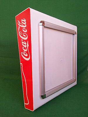 Display Quadro Menu' Insegna Luminosa Coca Cola Coca-Cola Da Parete. N° W90.