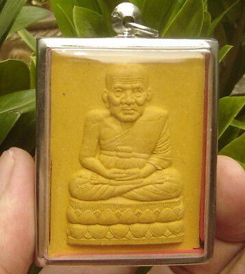 Huge pendant tablet fired clay tablet by Lung por Tud from Changhai Temple